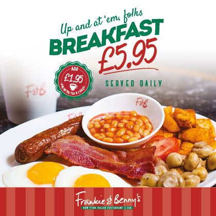 Breakfast at Frankie & Benny's